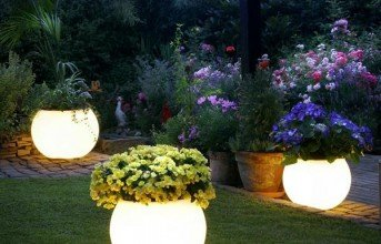 Garden Lightings and Concepts