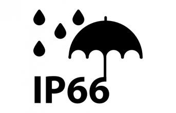 What is the IP code that determines the protection rating?
