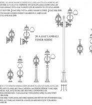 Gas Lamp Lantern Series
