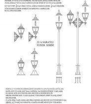 Courtier Lantern Series