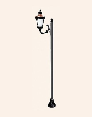 Y.A.12590 - Garden Lighting Poles