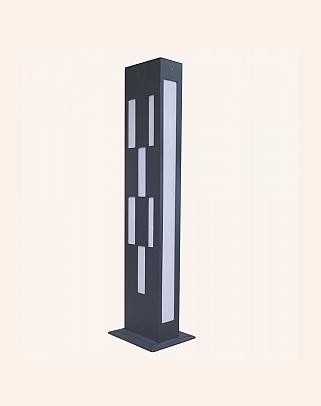 Y.A.29050 - Modern Bollards Grass Pole