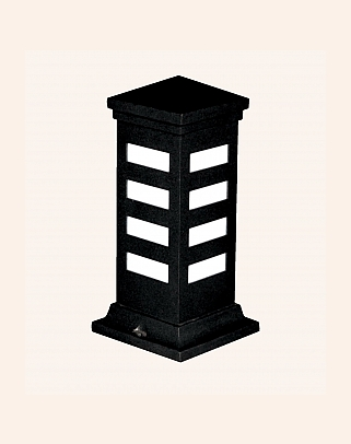 Y.A.29200 - Modern Bollards Set Top Ligh