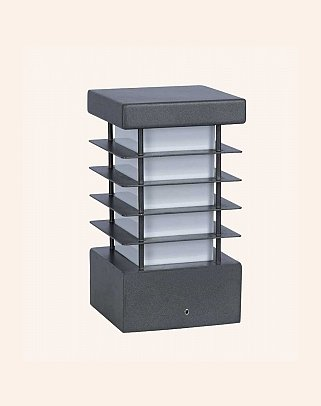 Y.A.30015 - Modern Bollards Set Top Ligh