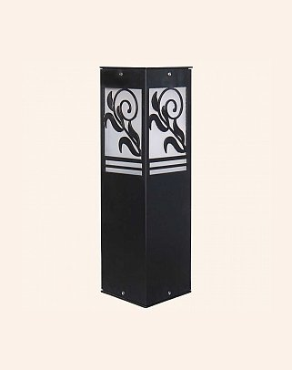 Y.A.30070 - Modern Bollards Set Top Ligh