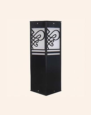 Y.A.30100 - Modern Bollards Set Top Ligh