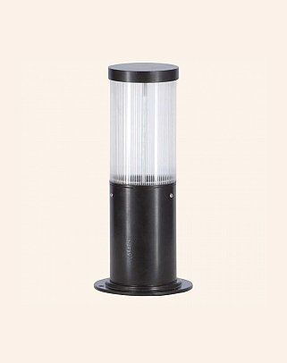 Y.A.40010 - Modern Bollards Set Top Ligh