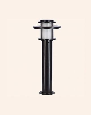 Y.A.42100 - Modern Bollards Grass Pole