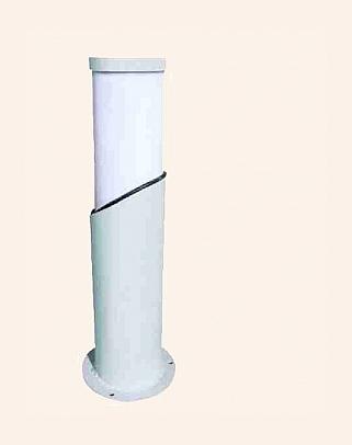 Y.A.44500 - Modern Bollards Grass Pole