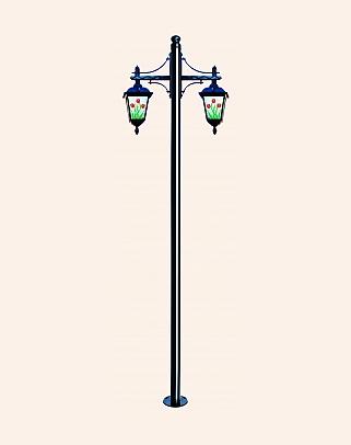 Y.A.5670 - Garden Lighting Poles