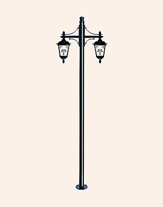 Y.A.5689 - Garden Lighting Poles