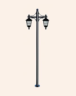 Y.A.5785 - Garden Lighting Poles