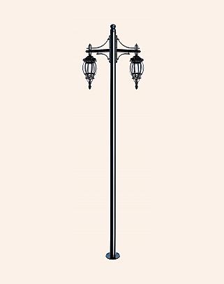 Y.A.6238 - Garden Lighting Poles