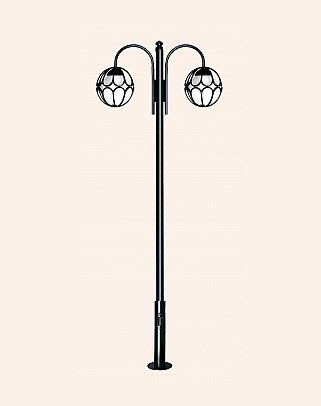 Y.A.67900 - Garden Lighting Poles