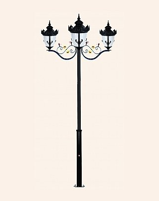 Y.A.70096 - Garden Lighting Poles