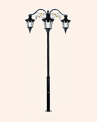 Y.A.70132 - Garden Lighting Poles