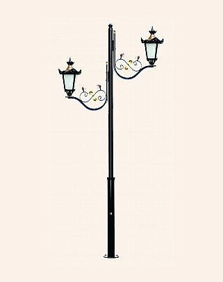 Y.A.70234 - Garden Lighting Poles