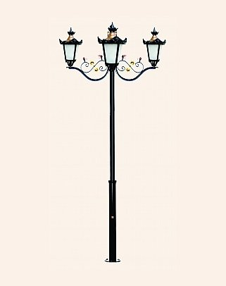 Y.A.70238 - Garden Lighting Poles