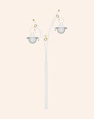 Y.A.70400 - Garden Lighting Poles
