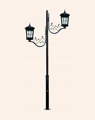 Y.A.70760 - Garden Lighting Poles