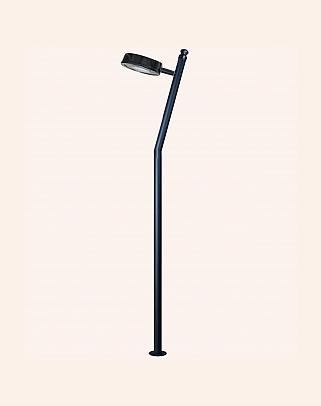 Y.A.82004 - Modern High Garden Lighting Poles