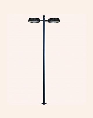 Y.A.82010 - Modern High Garden Lighting Poles