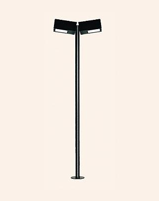 Y.A.83010 - Modern High Garden Lighting Poles