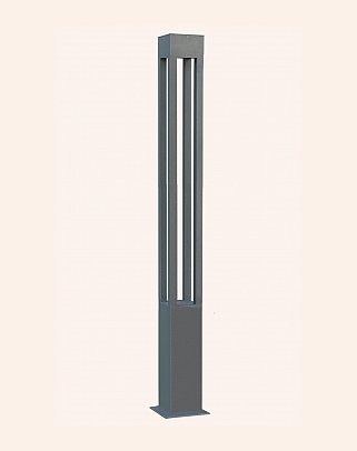 Y.A.84070 - Modern High Garden Lighting Poles