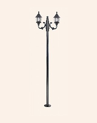 Y.A.6024 - Garden Lighting Poles