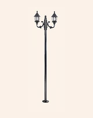 Y.A.6024 - Garden Lighting Poles