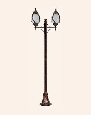 Y.A.6038 - Garden Lighting Poles