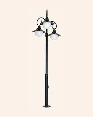 Y.A.67820 - Garden Lighting Poles