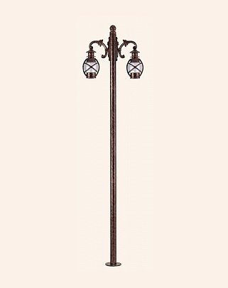 Y.A.12354 - Garden Lighting Poles