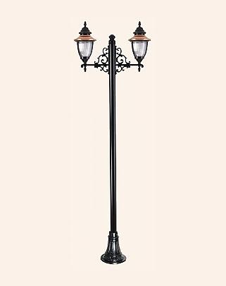 Y.A.12456 - Garden Lighting Poles
